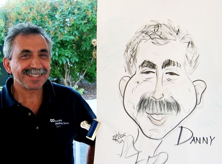caricatures comedy for parties events by bill begos